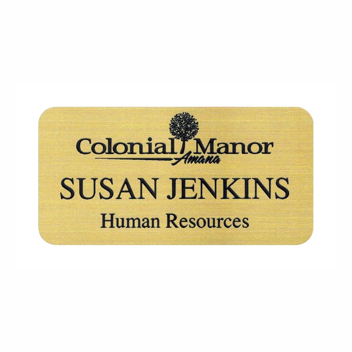 Custom Engraved Name Tag